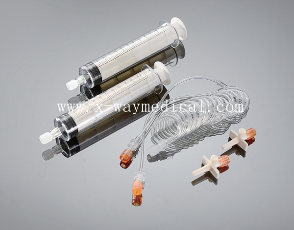 2-60ml MRI injector syringe for Mallinckrodt Liebel